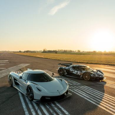 Koenigsegg Jesko and Absolut