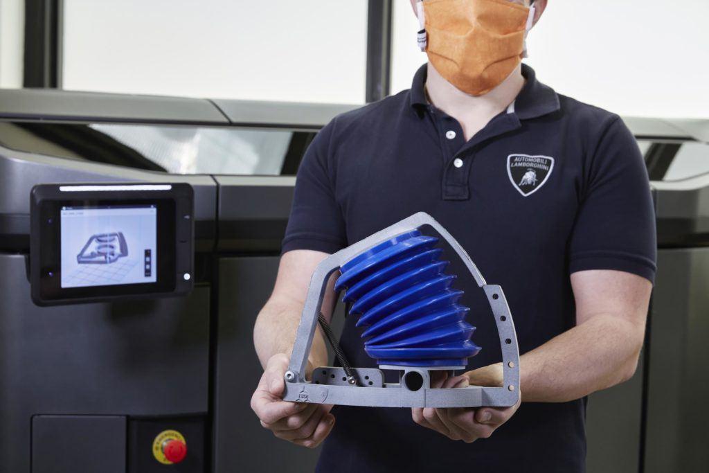 Lamborghini Breathing Simulators