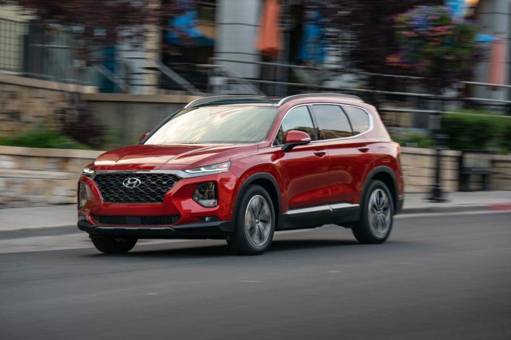 2020 Hyundai Santa Fe.