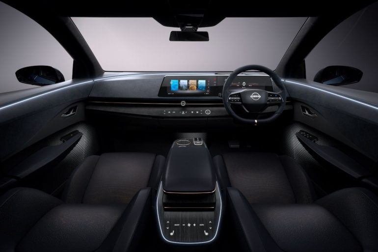 Nissan Ariya Concept Ditches Tablet Display for Something More Intuitive 24