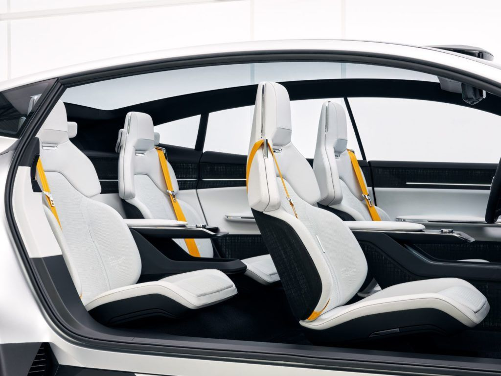 Batteries for the EV powertrain are beneath the floor as to not intrude on passenger space