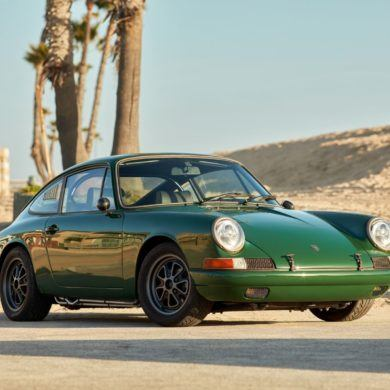 Tesla Powered 1968 Porsche 911 3