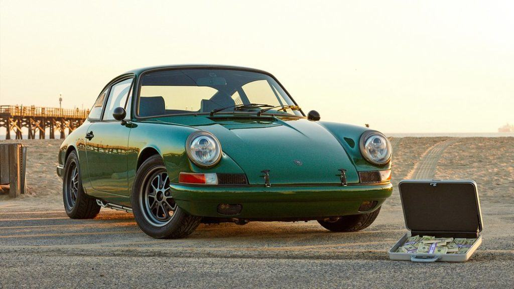 Tesla Powered 1968 Porsche 911 5