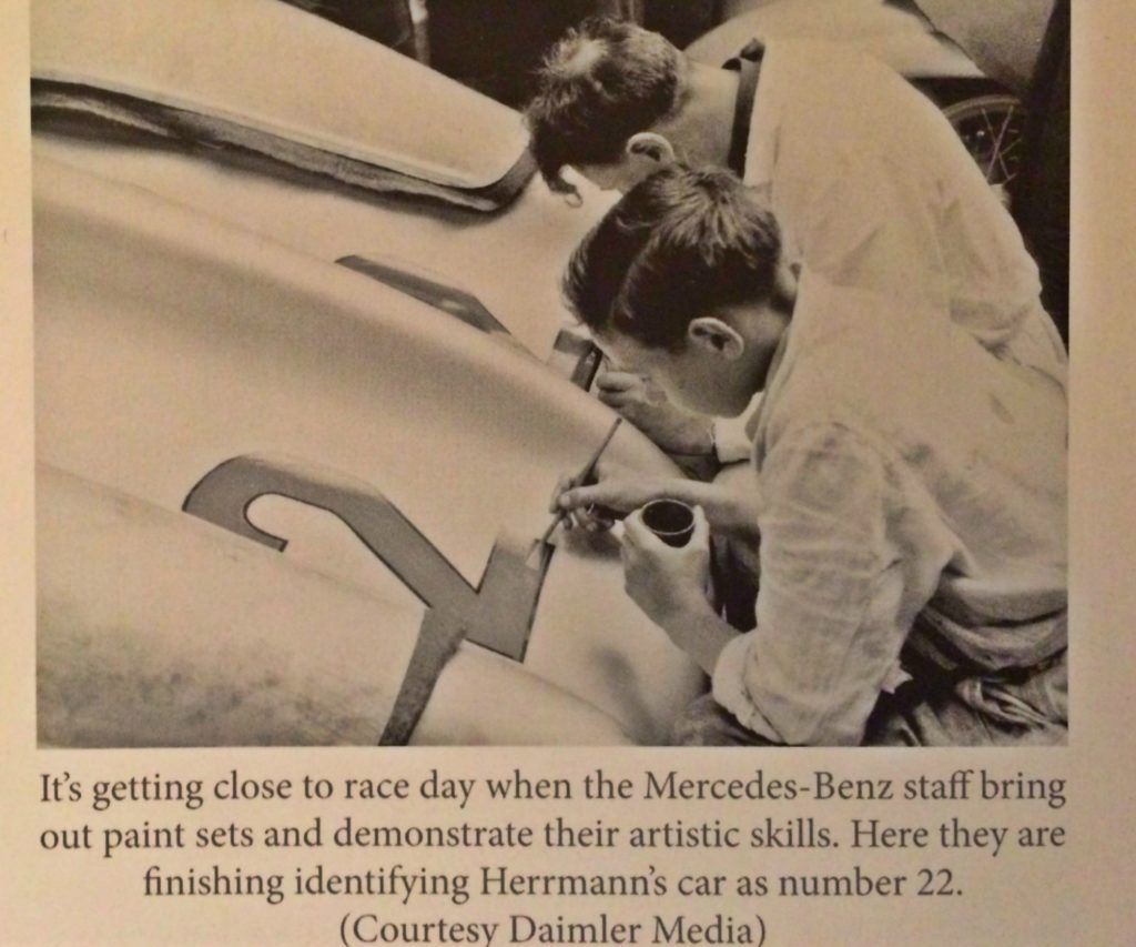 Screenshot from Two Summers: The Mercedes-Benz W 196 R Racing Car by Robert Ackerson, published by Veloce Publishing.
