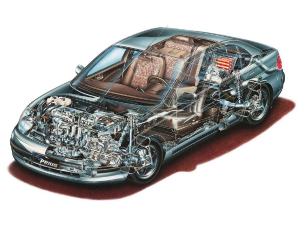 2001 Toyota Prius Cutaway.