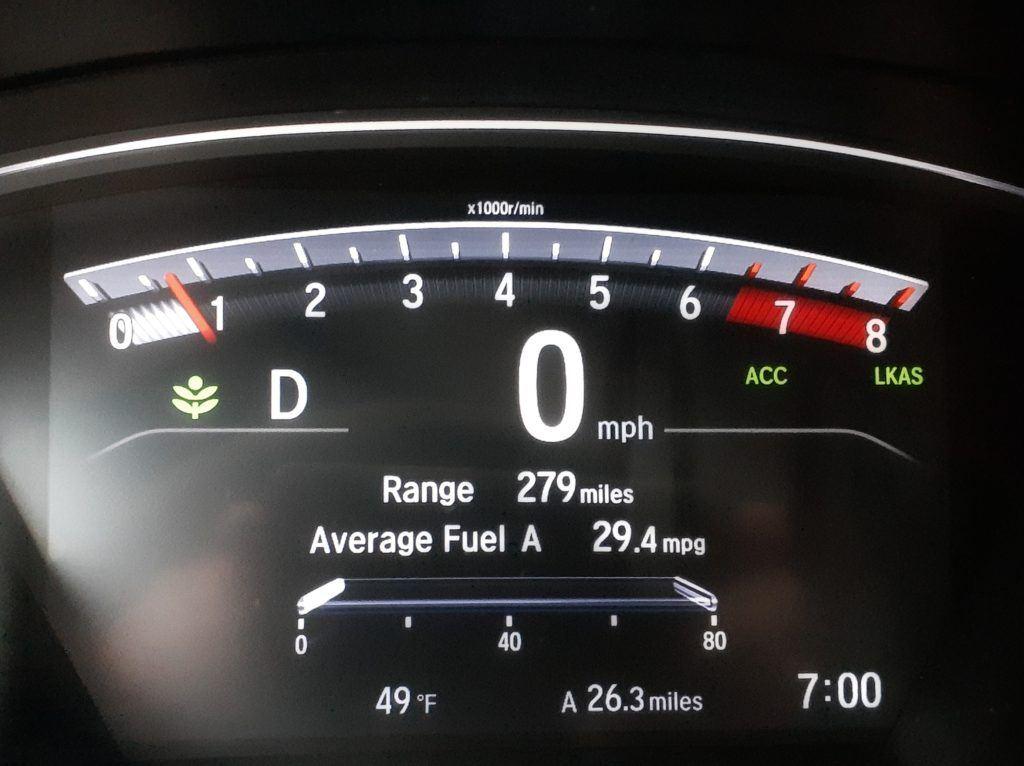 2020 Honda CR V 1