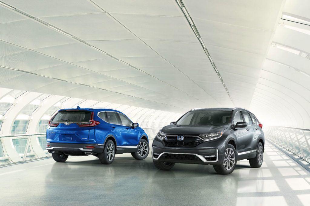 2020 Honda CR V 7