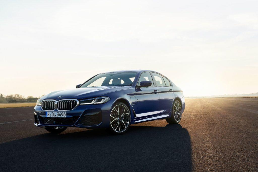 2021 BMW 5 Series.