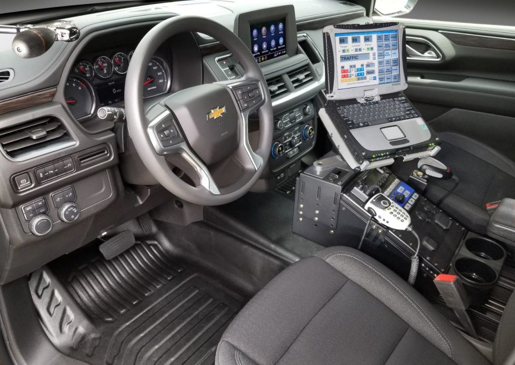2021 Chevrolet Tahoe Police Pursuit Vehicle.