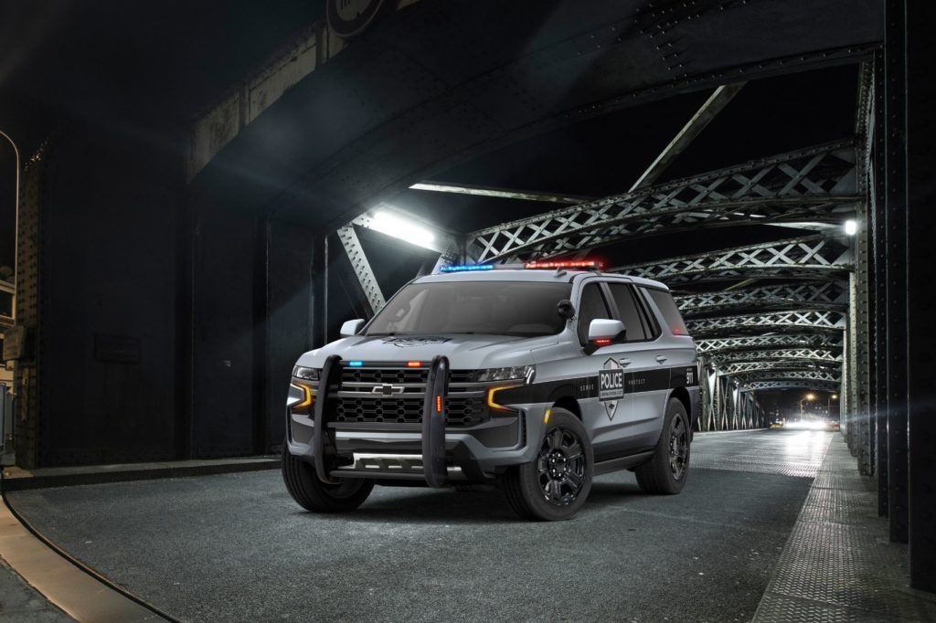 2021 Chevy Tahoe Police Pursuit Vehicle.