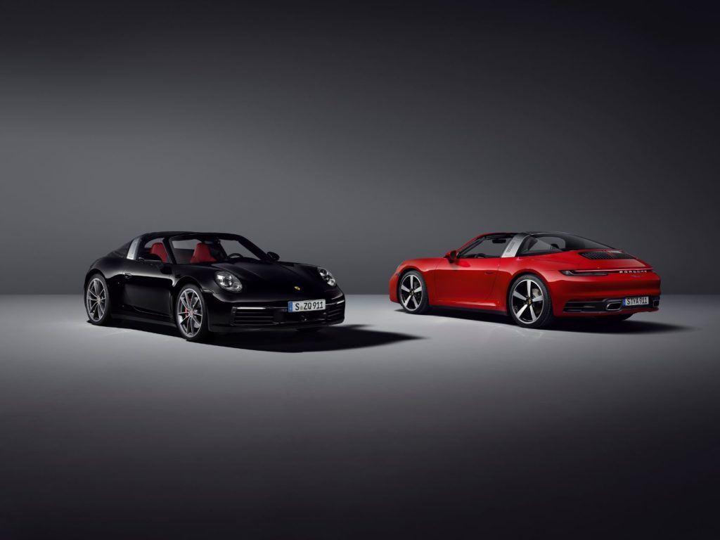 2021 Porsche 911 Targa & Targa 4S/
