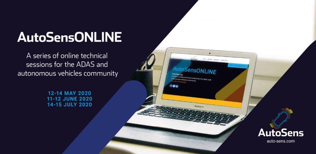 AutoSensONLINE 2020 Banner
