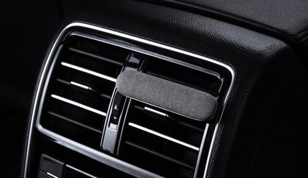 Your air freshener is probably toxic. Replace it with one from DYMND Auto Scents, which are made from essential oils.