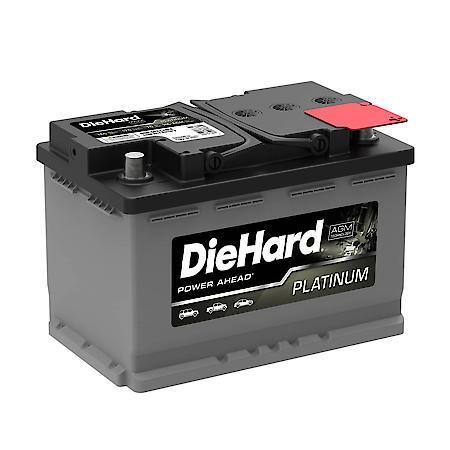 Diehard Platunum AGM battery