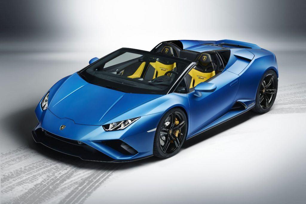 Lamborghini Huracán EVO RWD Spyder.