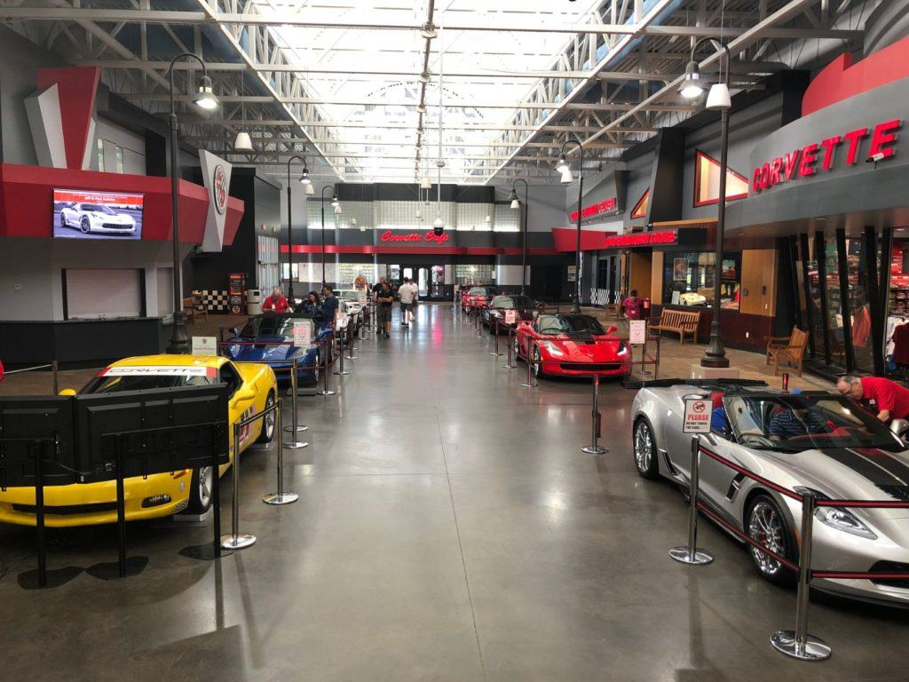 National Corvette Museum.
