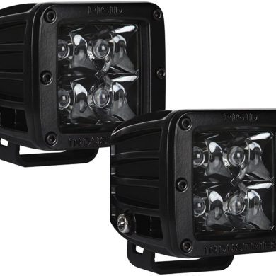 Rigid Industries D Series Pro Spot Light Midnight Edition