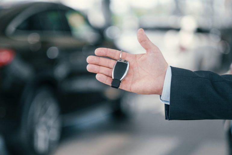 car key dealership