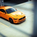 2018 Ford Mustang GT in Orange Fury with Performance Pack