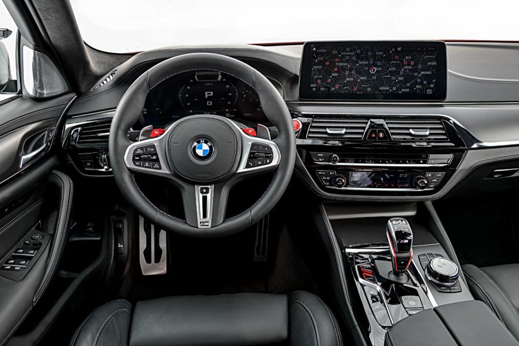 2021 BMW M5 Competition Sedan 12