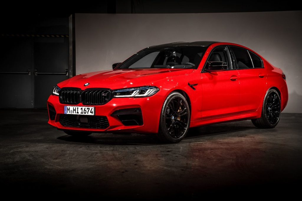 2021 BMW M5 Competition Sedan 2