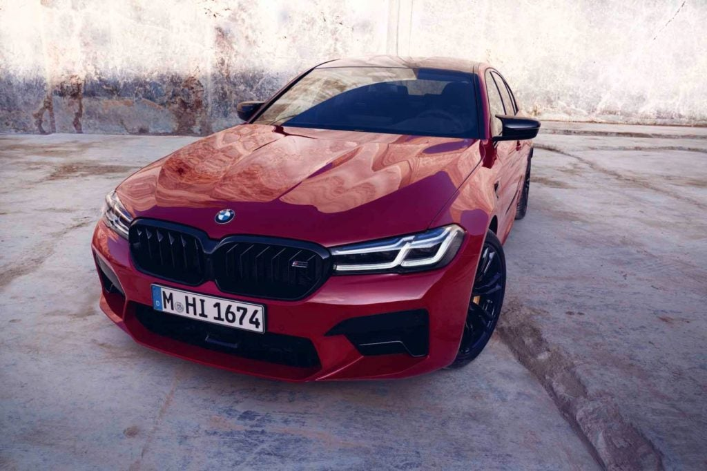 2021 BMW M5 Competition Sedan 20