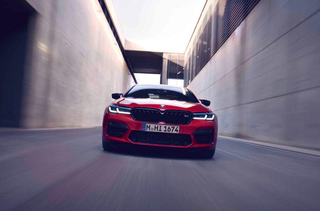 2021 BMW M5 Competition Sedan 24