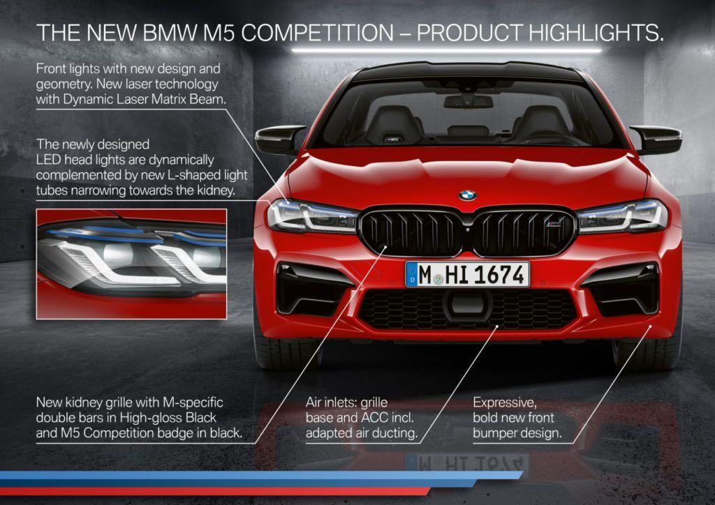 2021 BMW M5 Competition Sedan 26