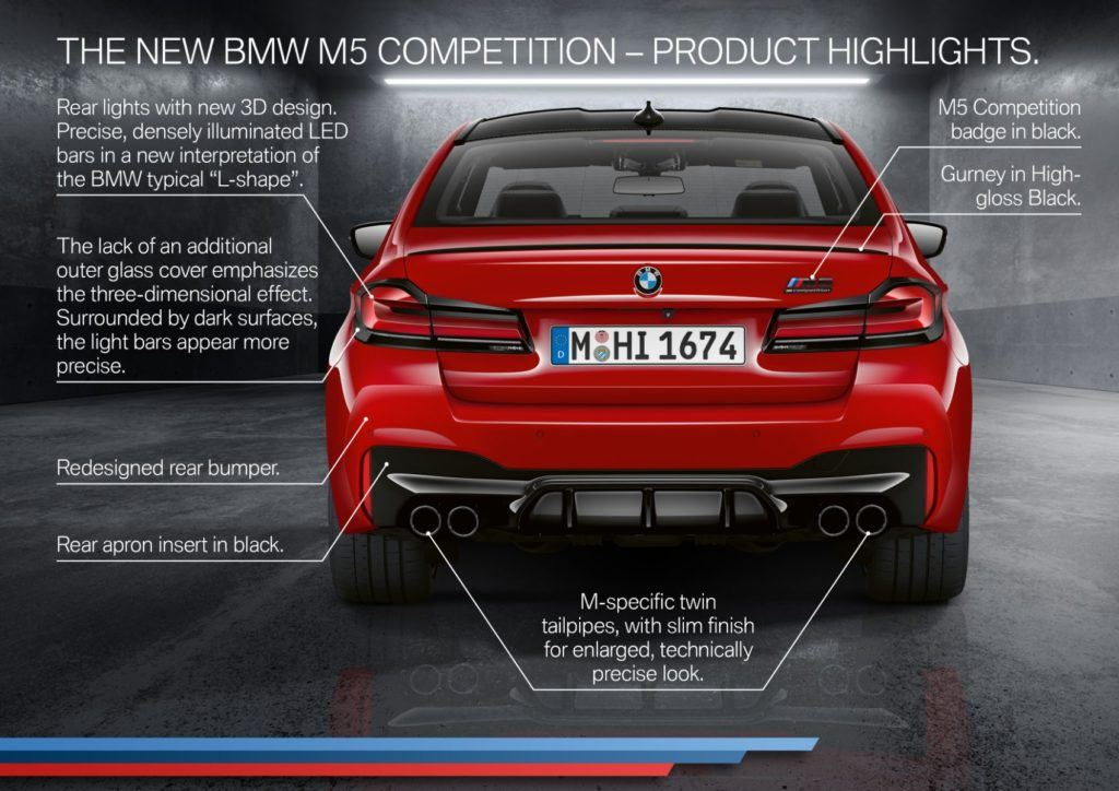 2021 BMW M5 Competition Sedan 28