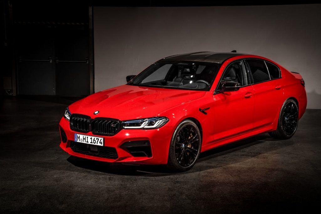 2021 BMW M5 Competition Sedan 3
