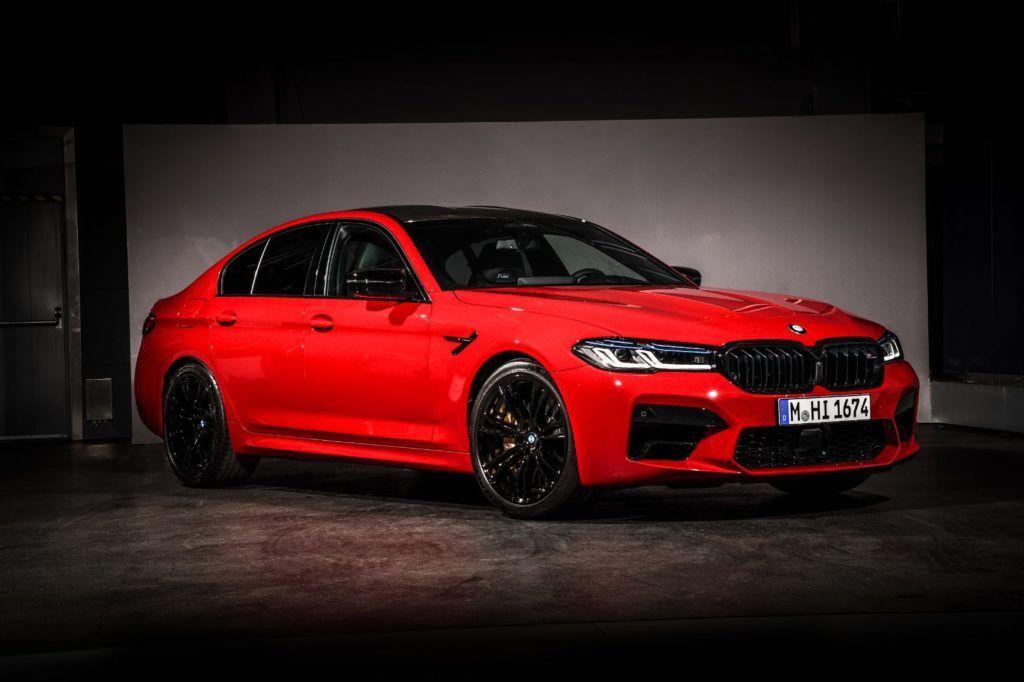 2021 BMW M5 Competition Sedan 4