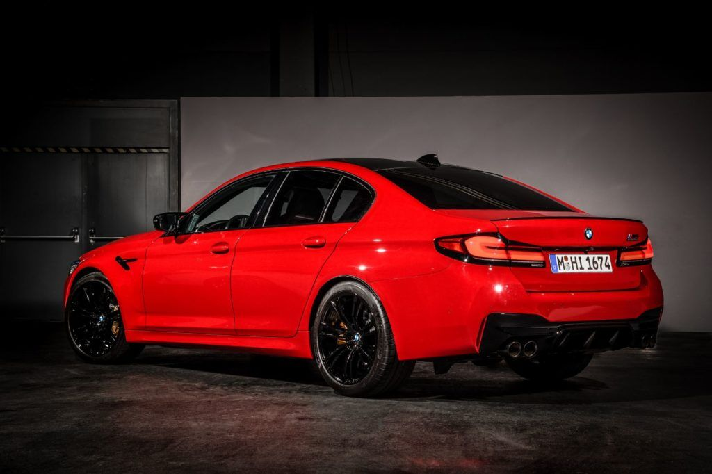 2021 BMW M5 Competition Sedan 5
