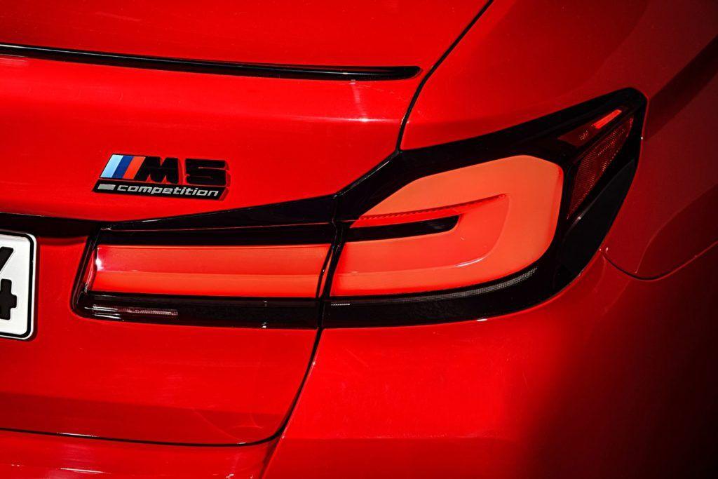 2021 BMW M5 Competition Sedan 9