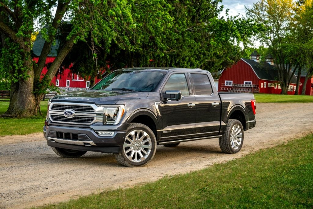 2021 Ford F 150 2