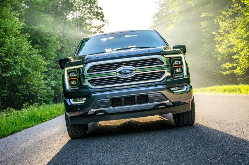 2021 Ford F 150 4