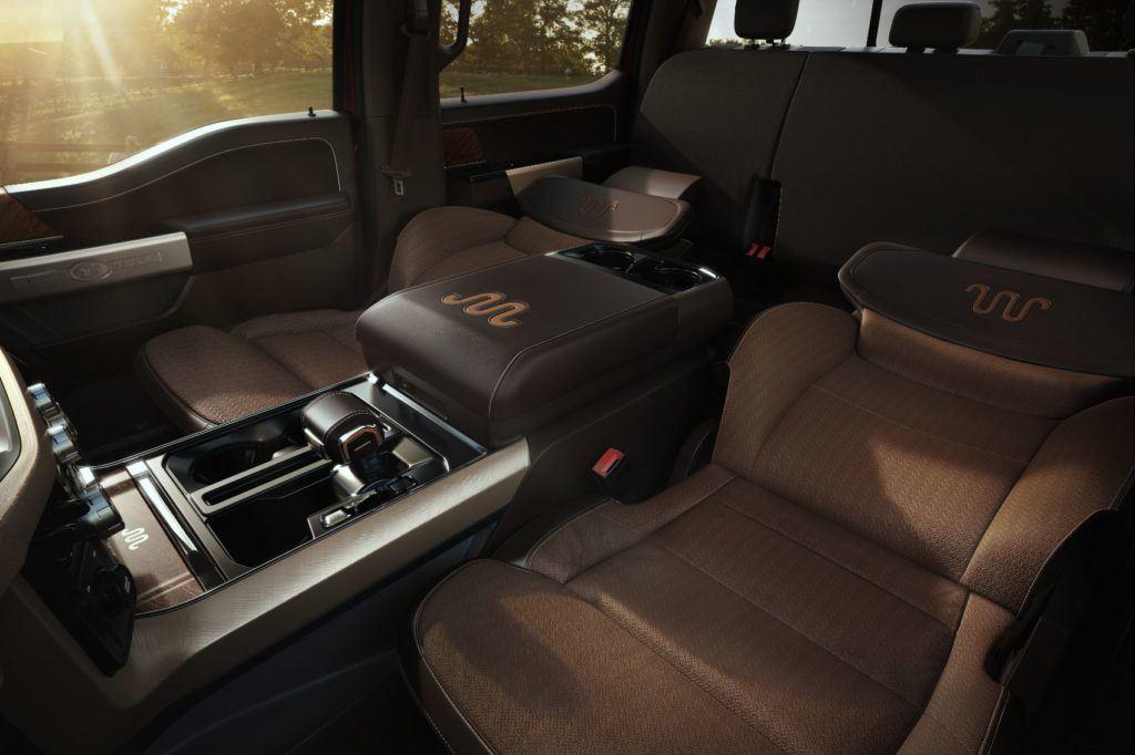 2021 Ford F-150 Max Recline Seats.