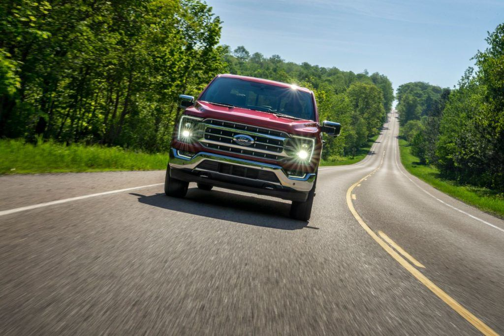 2021 Ford F 150 8