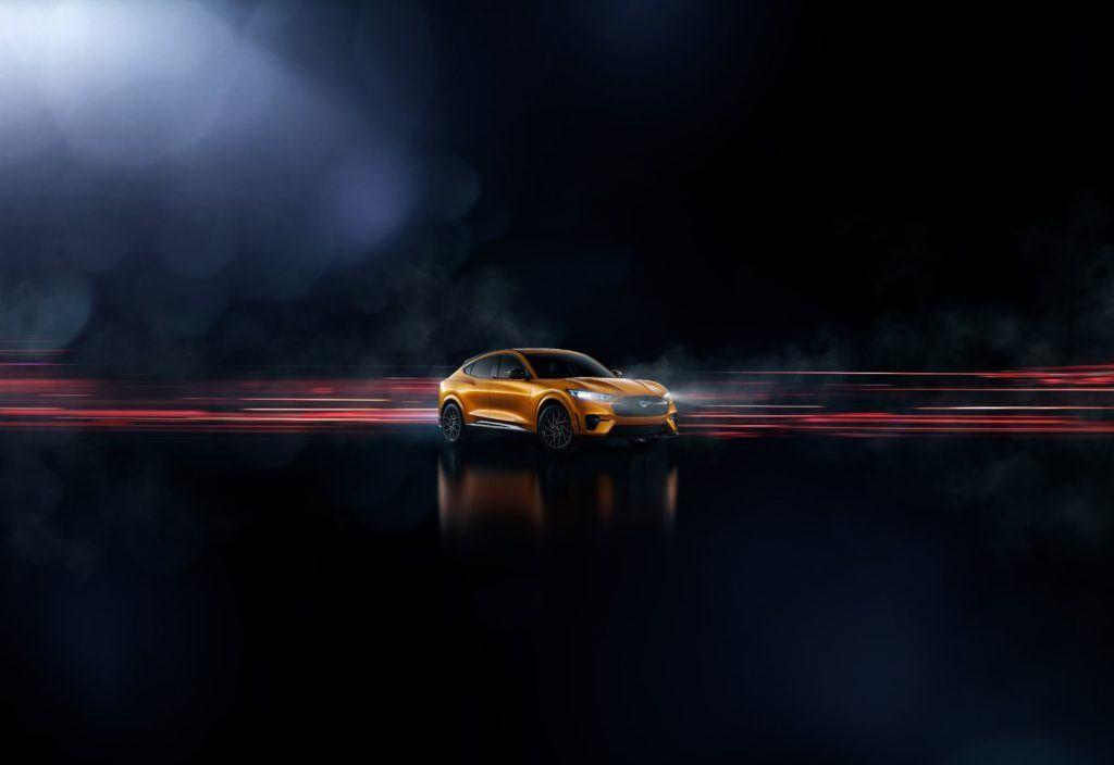 2021 Ford Mustang Mach-E Cyber Orange