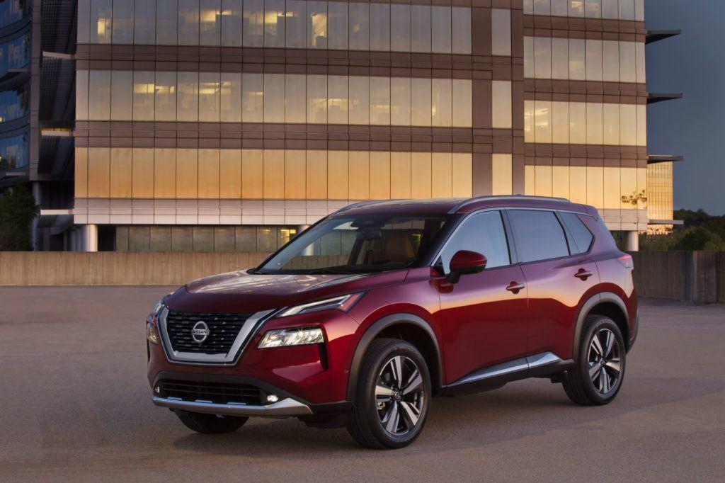 2021 Nissan Rogue.