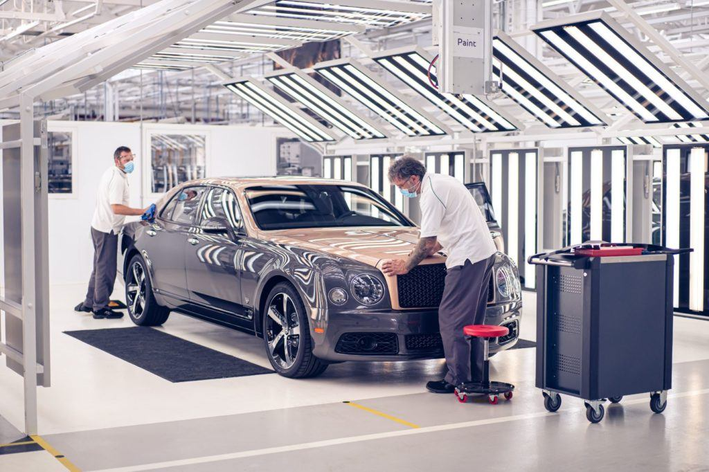Bentley Mulsanne 6.75 Edition by Mulliner 3