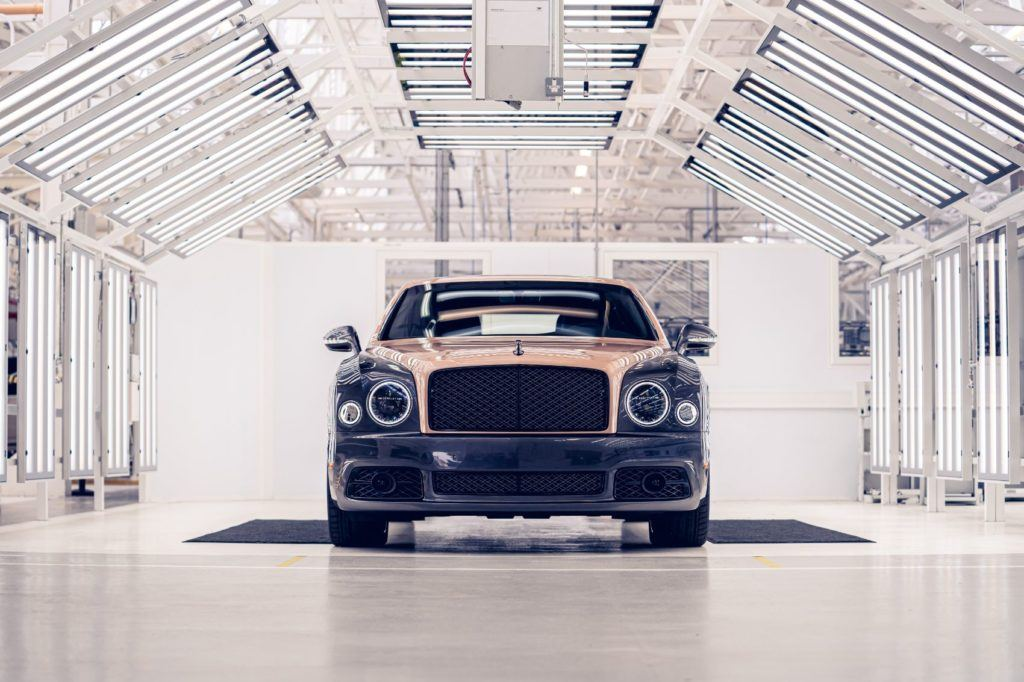 Bentley Mulsanne 6.75 Edition by Mulliner 8