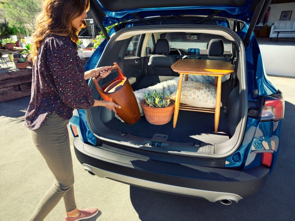 Ford Escape Plug-In Hybrid rear cargo bay