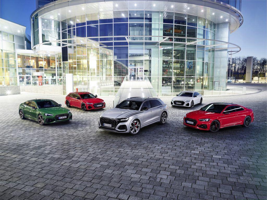 Audi Sport GmbH family.