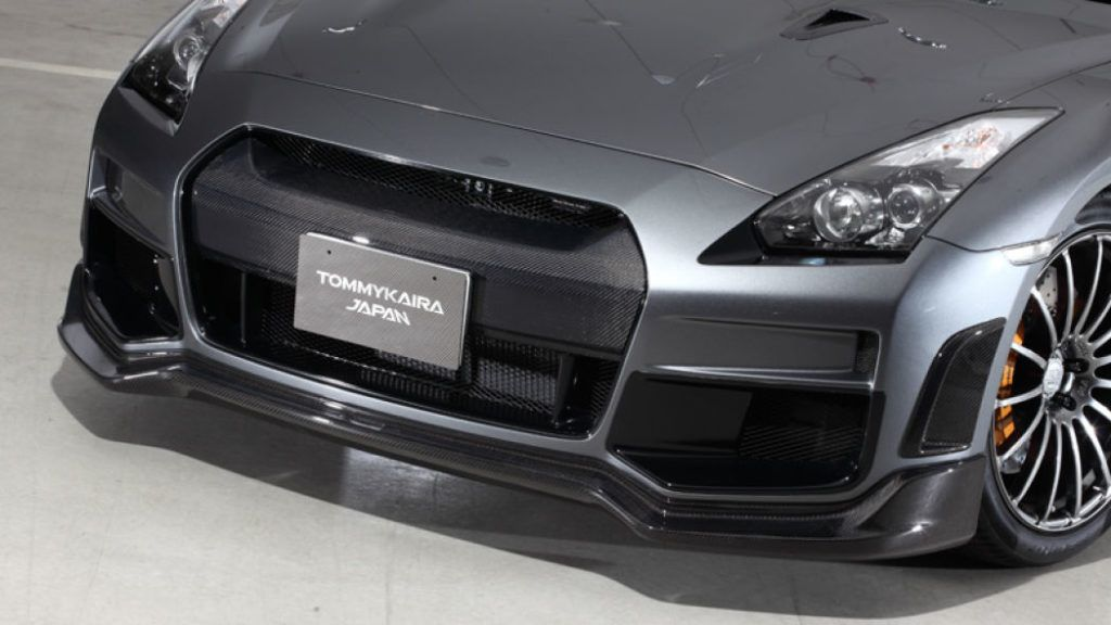 Tommy Kaira Silver Wolf Nissan GT R nose