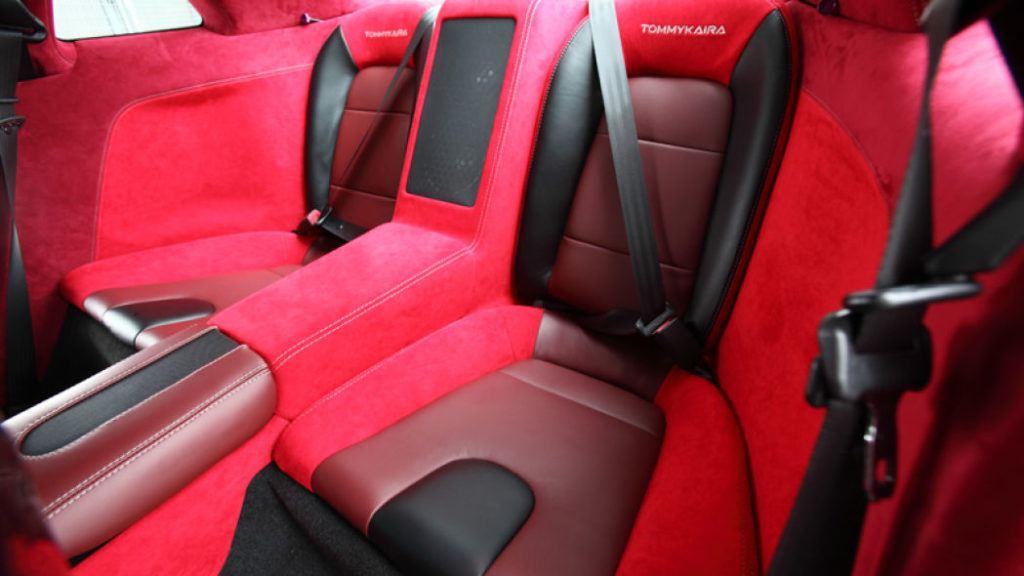 Tommy Kaira Silver Wolf Nissan GT R rear seats