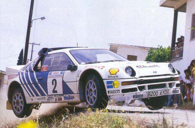 1986 Acropolis Rally Ford RS200 Stig Blomqvist 623x408 1