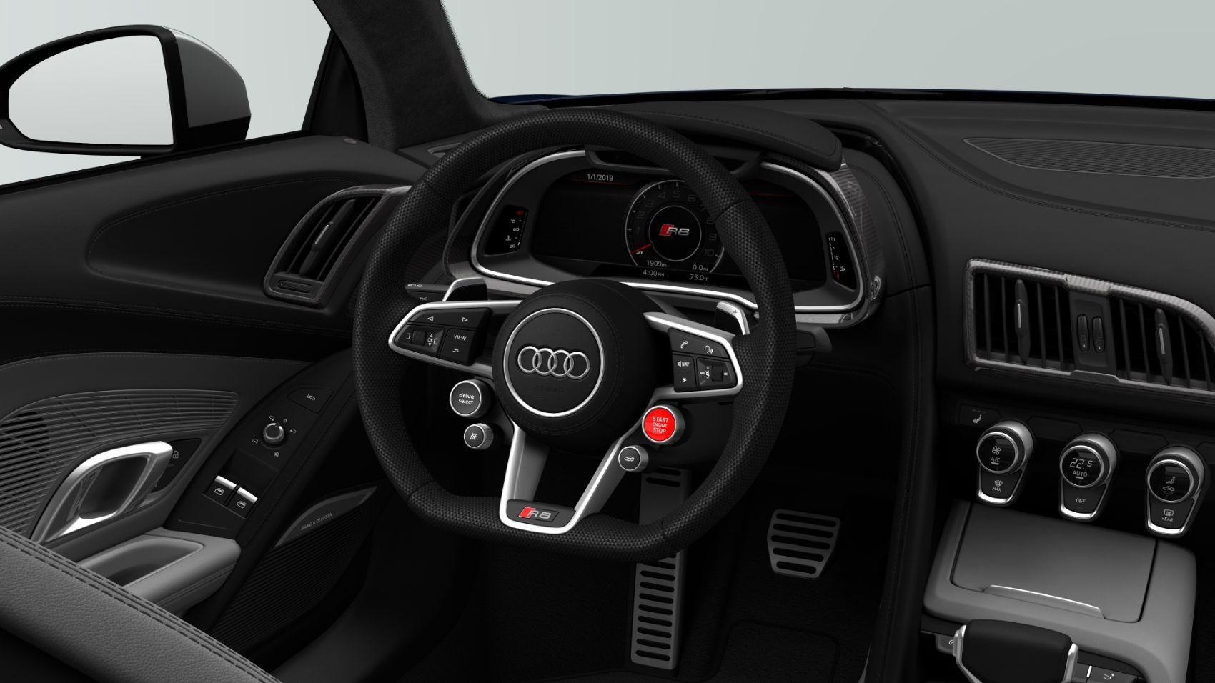 2020 Audi R8 V10 quattro Mugello Blue 4