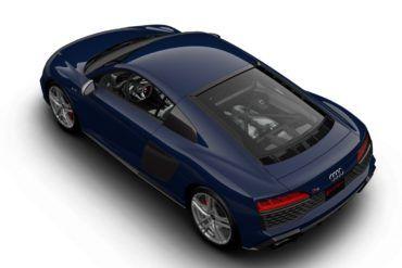 2020 Audi R8 V10 quattro Mugello Blue 5