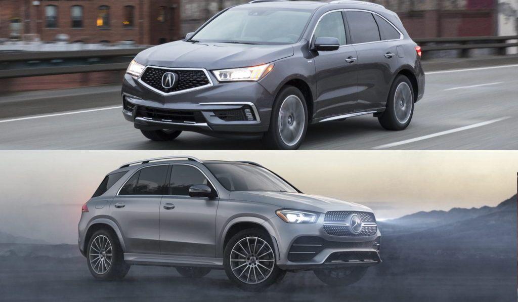 Acura MDX vs Mercedes GLE