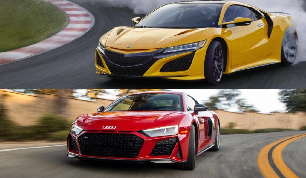 Acura NSX vs Audi R8
